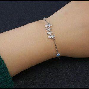 Evil eye 🧿, Cross family bracelet